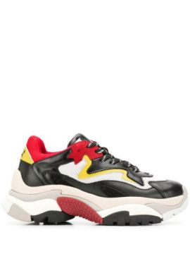 Chunky Sole Sneakers - Ash