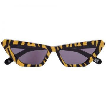 Tiger-print Cat-eye Sunglasses - Chimi