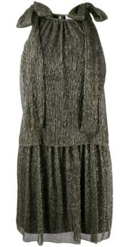 Metallic Knit Dress - Be Blumarine