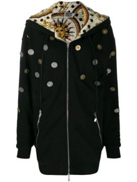 Hooded Coin Coat - Fausto Puglisi