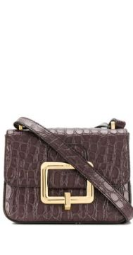 Embossed Cross Body Bag - Bally