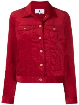 Corduroy Button Jacket - 7 For All Mankind