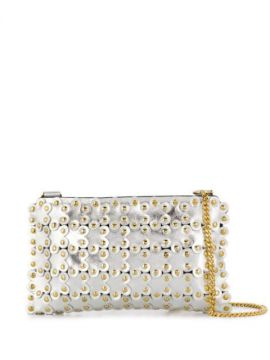 Red(v) Flower Puzzle Cross Body Bag - Red Valentino