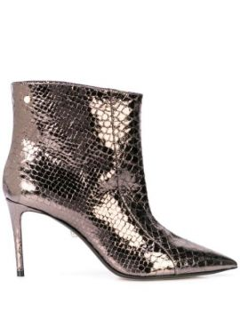 Metallic Ankle Boots - Alevì