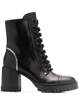 Lace-up Ankle Boots - Casadei