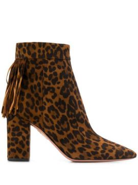 Ankle Boot Animal Print - Aquazzura