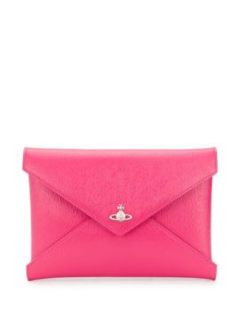 Envelope Shaped Clutch Bag - Vivienne Westwood