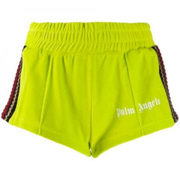 Striped Knit Panel Short - Palm Angels