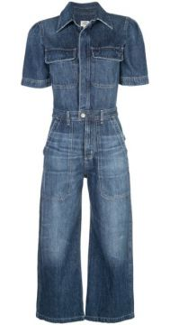 Flared Denim Jumpsuit - Citizens Of Humanity