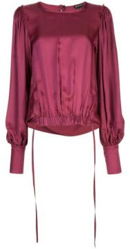 Elasticated Hem Blouse - Ann Demeulemeester