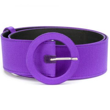 Rounded Buckle Belt - Attico