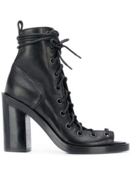 Lace-up Ankle Boots - Ann Demeulemeester