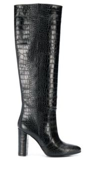 Embossed Tall Boots - Via Roma 15