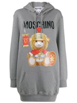 Teddy Bear Hoodie Dress - Moschino
