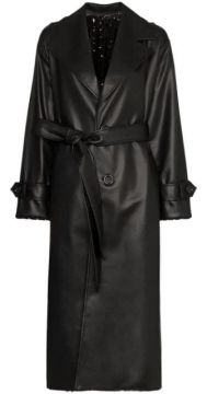 Reversible Sequinned Trench Coat - Anouki
