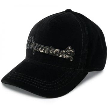 Sequin Logo Baseball Cap - Dsquared2