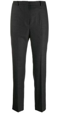 High-waisted Slim-fit Trousers - Incotex
