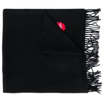Embroidered Logo Scarf - Dsquared2
