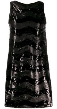 Sequin Shift Dress - Ea7 Emporio Armani