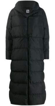 Hooded Padded Coat - Bacon