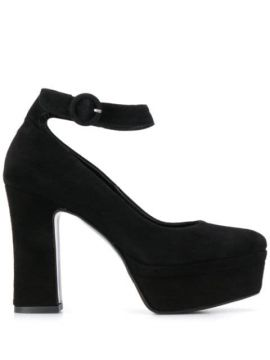 Platform Sole Pumps - Albano