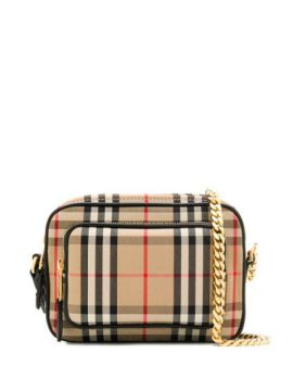 Vintage Check Crossbody Bag - Burberry