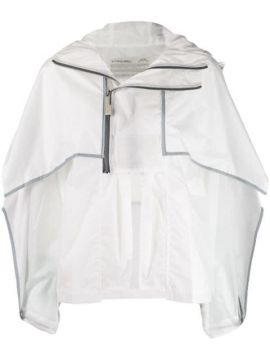Hooded Cape Jacket - A-cold-wall*