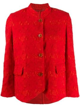 Embroidered Fitted Jacket - Ermanno Scervino