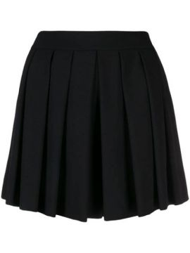 Pleated Mini Skirt - Boutique Moschino