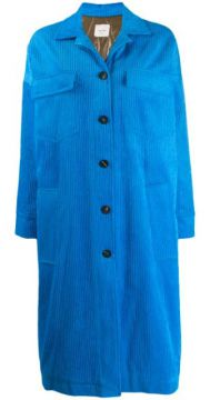 Padded Corduroy Coat - Alysi