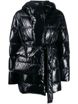 Hooded Padded Jacket - Bacon
