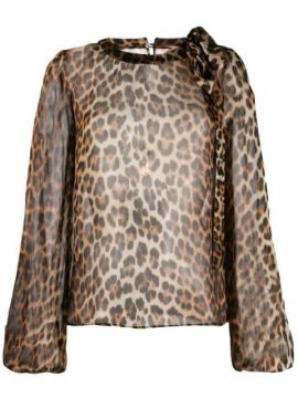 Animal Print Blouse - Nº21