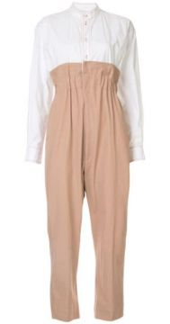 Two-tone Tailored Jumpsuit - Bassike