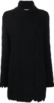 Cable Knit Dress - Dondup