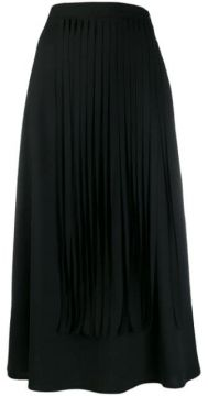 Fringed Midi Skirt - Alysi