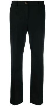 Tailored Straight Leg Trousers - Dolce & Gabbana