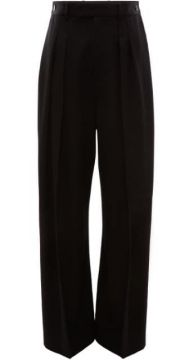 High Waisted Wide Leg Trousers - Jw Anderson