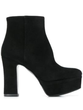 Platform Ankle Boots - Albano