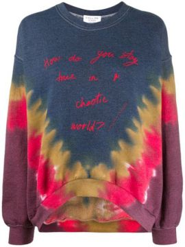 Quote Print Sweatshirt - Collina Strada