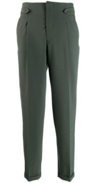 High-waisted Trousers - Closed