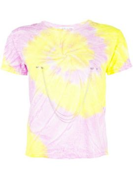 Chain Embellished Tie Dye T-shirt - Collina Strada