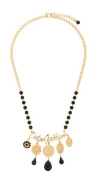 Votive Motif Medallion Necklace - Dolce & Gabbana