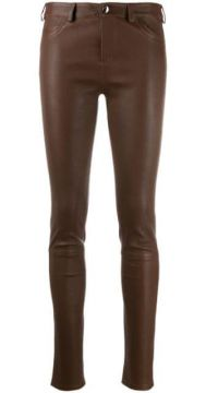 Skinny Leather Trousers - Arma