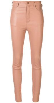 Skinny Leather Trousers - Drome