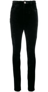 High-waist Fitted Trousers - Attico