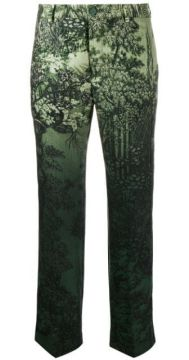 Low Rise Printed Trousers - F.r.s For Restless Sleepers