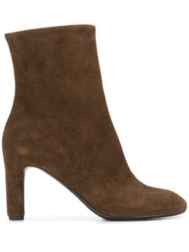 Smooth Ankle Boots - Del Carlo