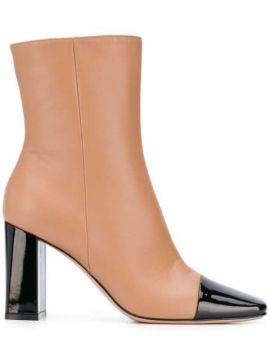 Two-tone Ankle Boots - Gianvito Rossi