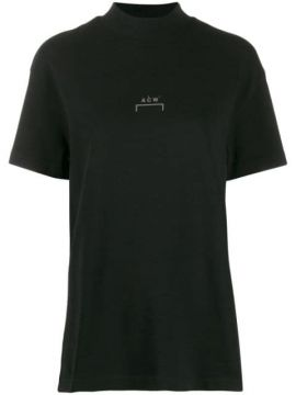 Mock Neck Logo T-shirt - A-cold-wall*