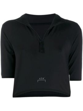 Cropped Logo T-shirt - A-cold-wall*